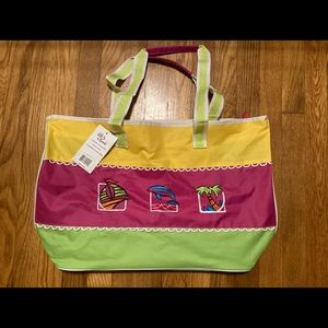 Handbags - Colorful Beach Tote (NWT)